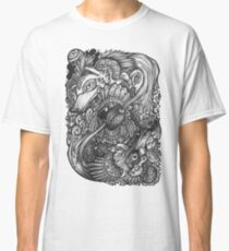 The Two wolves in our Heart Classic T-Shirt