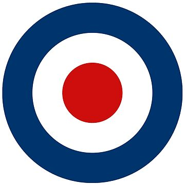 Classic Scooterist MOD Target - High Quality - RAF Roundel by ScooterStreet