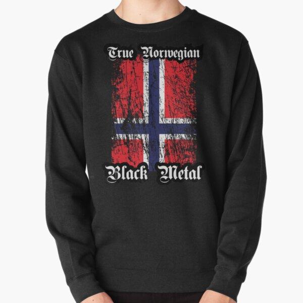 Norway Flag Vintage Style Retro Norwegian Sweatshirt Gift Idea