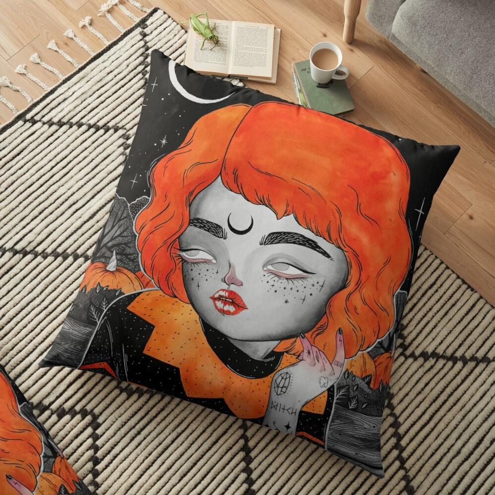 OCTOBER Floor Pillow