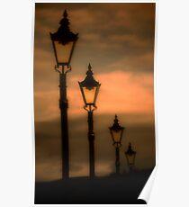 Lamp Standard at Sunset * Poster