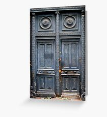 Blue Door - Lille Greeting Card