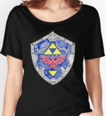 Zelda - Link Shield doodle Women's Relaxed Fit T-Shirt