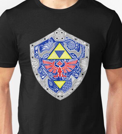 Zelda - Link Shield doodle Unisex T-Shirt