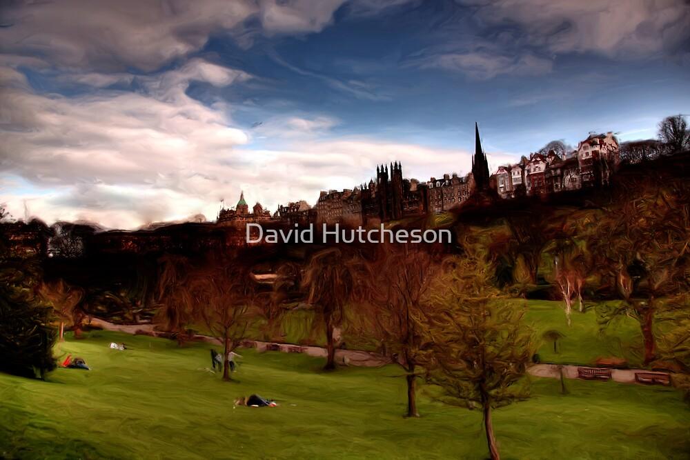 Princes Gardens & the Mound * by David Hutcheson