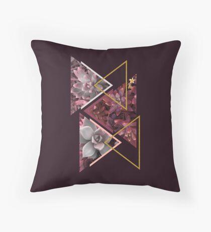 Wine Succulents #redbubble #decor #buyart Throw Pillow