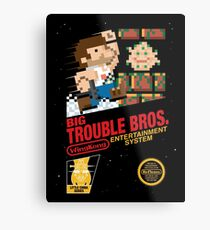 Big Trouble Bros. Metal Print