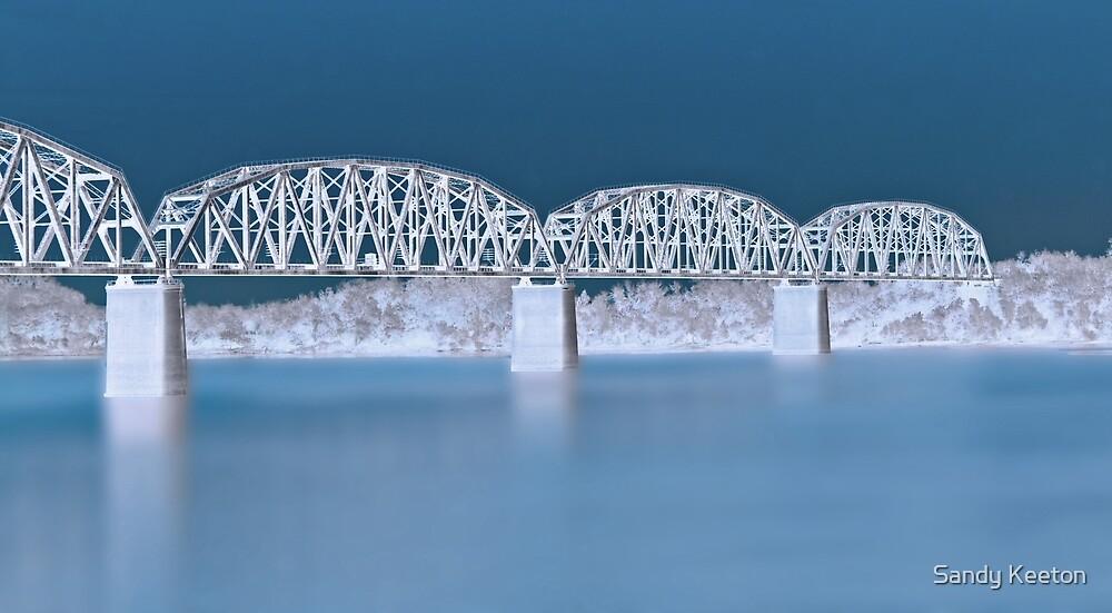 Railroad Bridge by Sandy Keeton