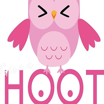 Breast Cancer Awareness Give A Hoot by teerich