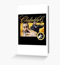 Chabuddy G Kurupt FM Greeting Card