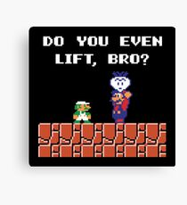 Super Lift Bros. Canvas Print