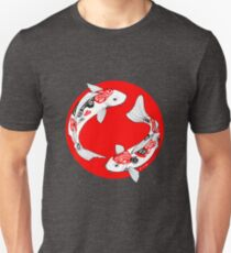 koi japonés Camiseta ajustada