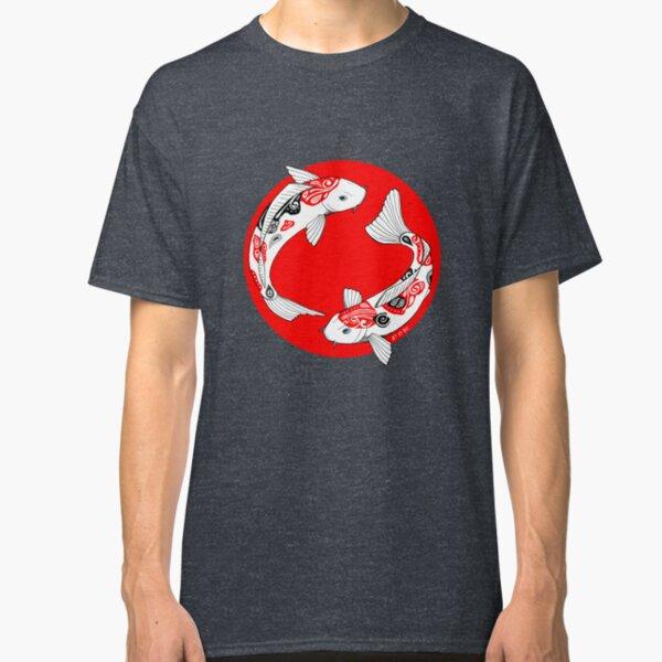 Japanese koi T-shirt classique