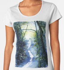 West Riding Waterfall Women's Premium T-Shirt