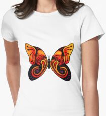 A Butterfly Never Forgets Women's Fitted T-Shirt
