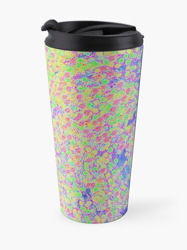 Alternate view of Color Wave Travel Mug