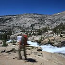 Pyramid Creek in Desolation Wilderness by Christophe Testi