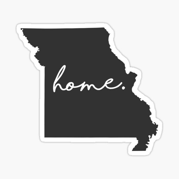 Missouri Home Sticker