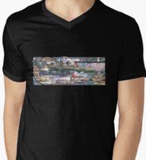 Ω - THE STORM T-shirt col V homme