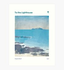 Virginia Woolf - To the Lighthouse Art Print