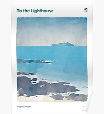 Virginia Woolf - To the Lighthouse Poster
