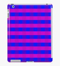 Vector purple and blue pattern  iPad Case/Skin