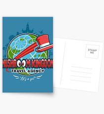 Mushroom Kingdom Travel Agency Postcards