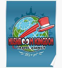 Mushroom Kingdom Travel Agency Poster