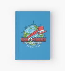 Mushroom Kingdom Travel Agency Hardcover Journal