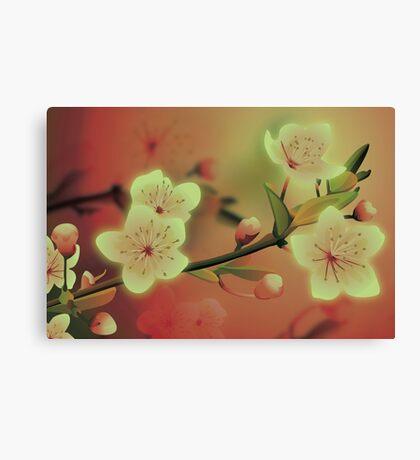 Yoshie blossom peach Canvas Print
