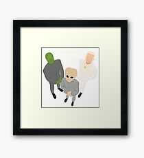 People of Earth Framed Print