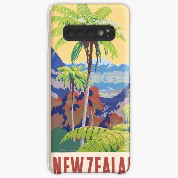 Vintage New Zealand Print Samsung Galaxy Snap Case
