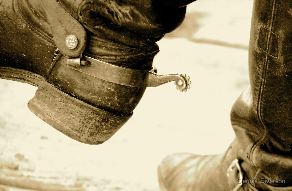 Boots 'n Spurs by Glennis  Siverson
