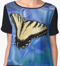 Your Butterfly (Eastern Tiger Swallowtail) Women's Chiffon Top