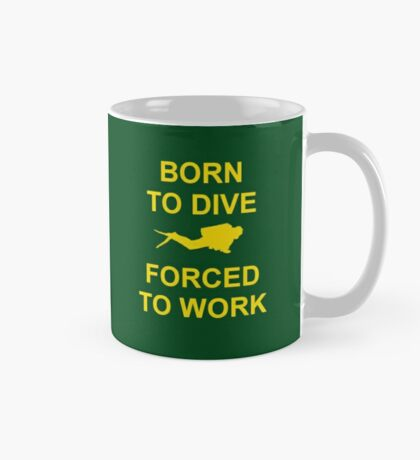 Born To Dive Mug