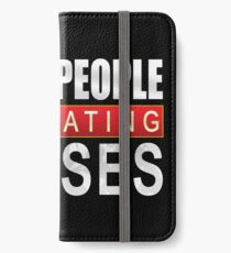 White People Renovating Houses Funny Parody Design iPhone Wallet/Case/Skin