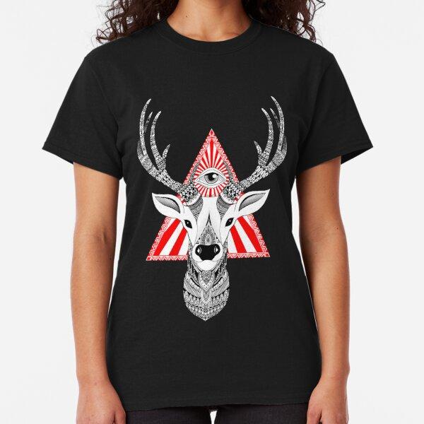 Mystical Deer T-shirt classique