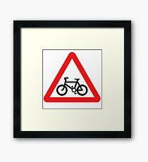Bike! Framed Print