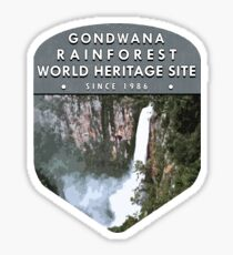 Gondwana Rainforest world heritage site Sticker