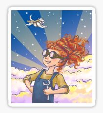 Engineer Girl Sticker