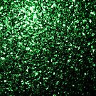 Beautiful Glamour Dark Green glitter sparkles by PLdesign