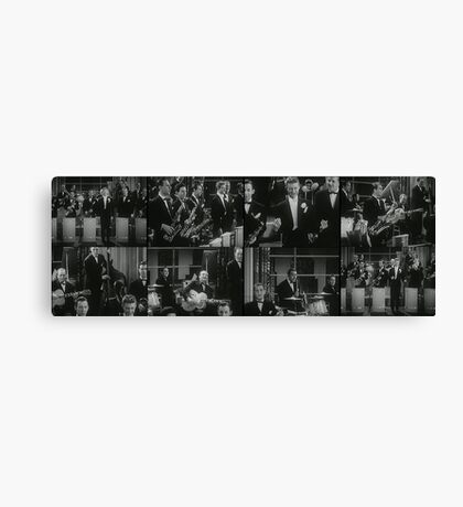 The Brass band Canvas Print