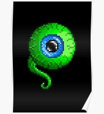 Jacksepticeye Pixel art logo - SepticeyeSam Poster