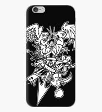 Person With Objects iPhone Case