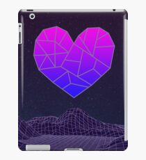 Vaporwave Heart iPad Case/Skin