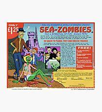 Sea-Zombies Photographic Print
