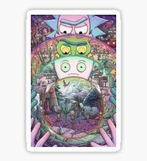 Rick and Morty: Inception Sticker