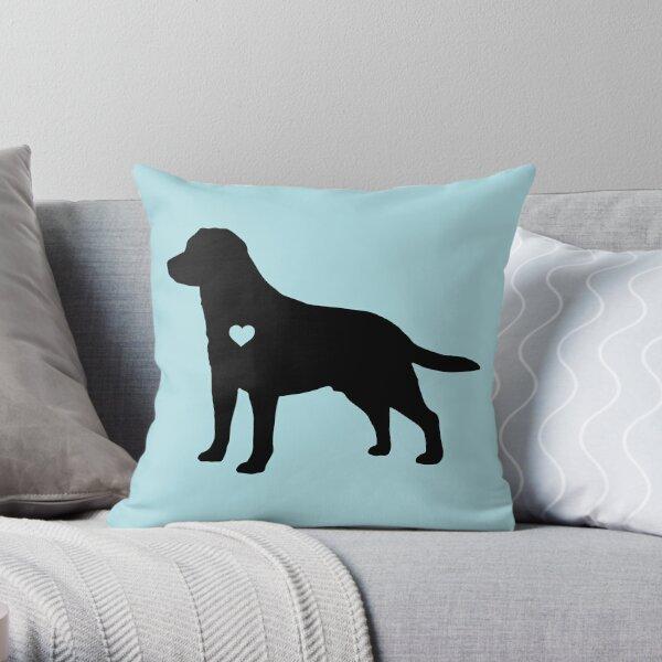 Labrador Love Throw Pillow