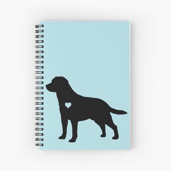 Labrador Love Spiral Notebook