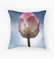Tulip In The Sun Throw Pillow